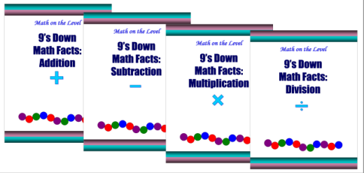 9\'s Down Math Facts