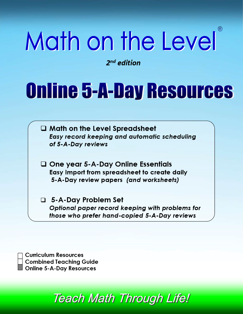 Online 5-A-Day Resources