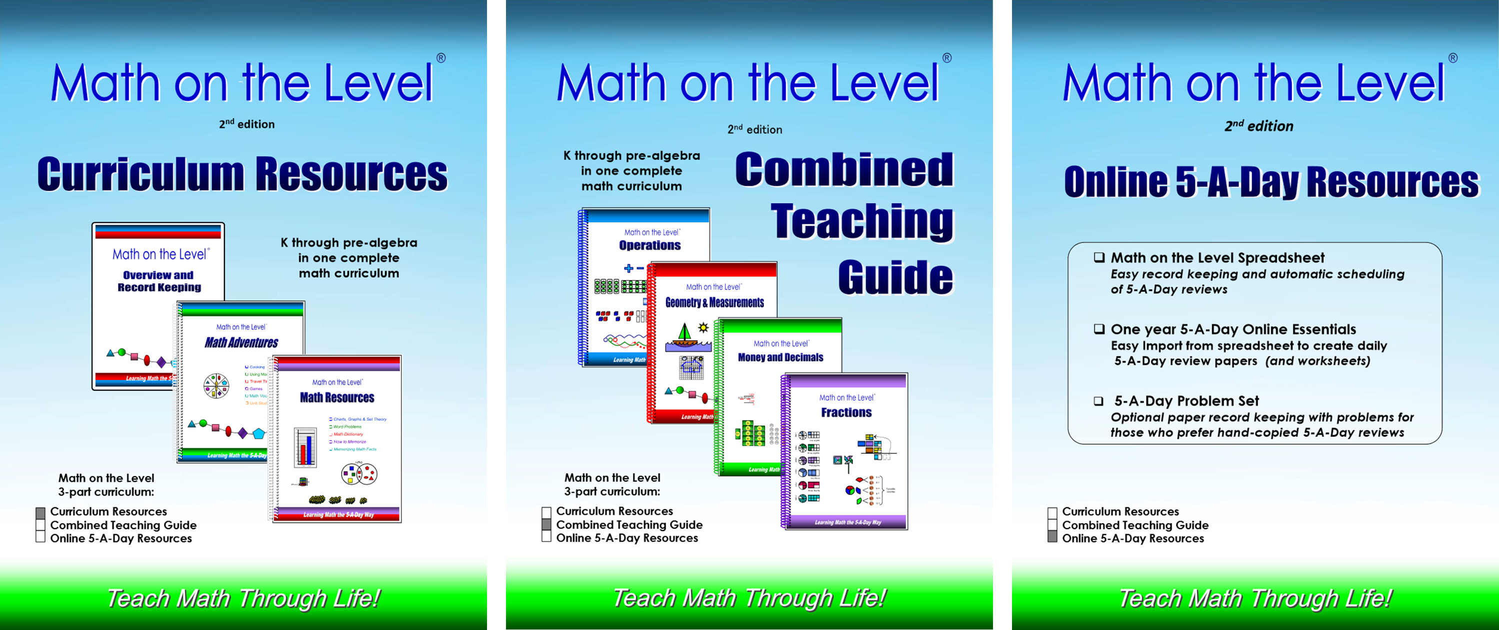 Math on the Level 2nd Edition